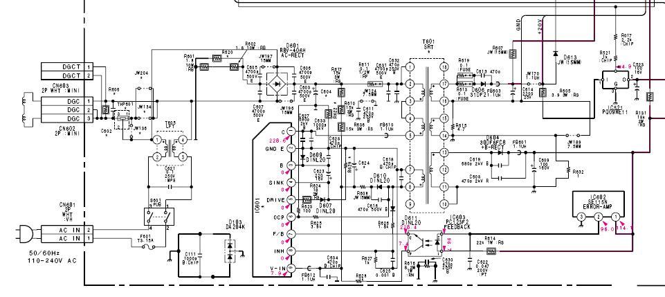 Sony kv g 25m1 нужна схема